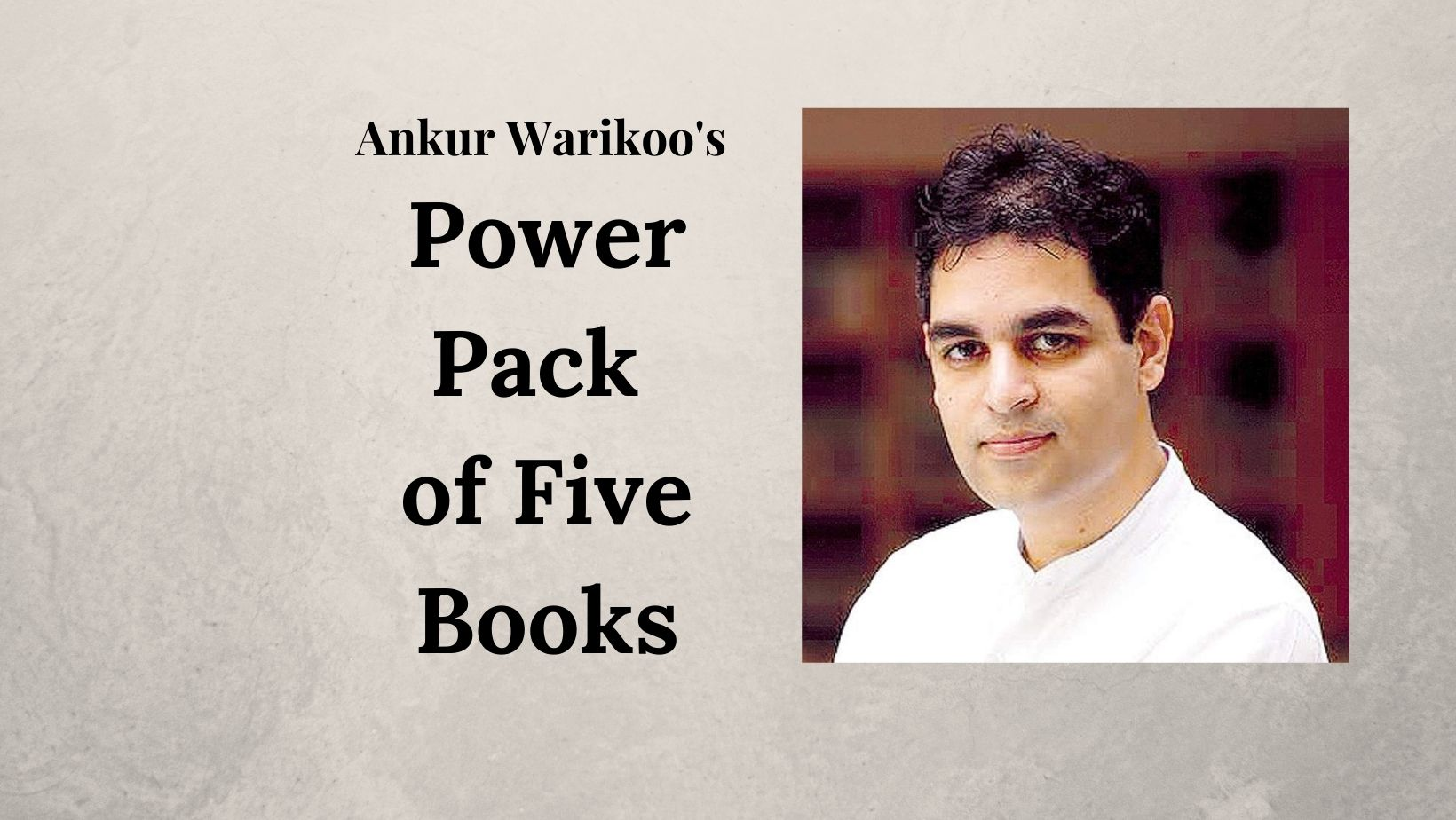 Free e-Book - Ankur Warikoo's Power Pack of Five Books